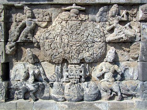 78+ Gambar Relief Binatang Pada Candi Borobudur Terlihat Keren
